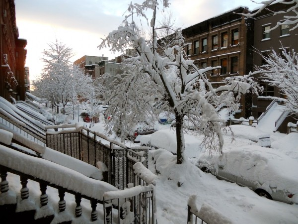 Harlem in the Snow, NYC