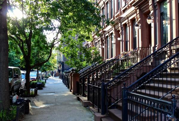 Harlem Brownstones, NYC