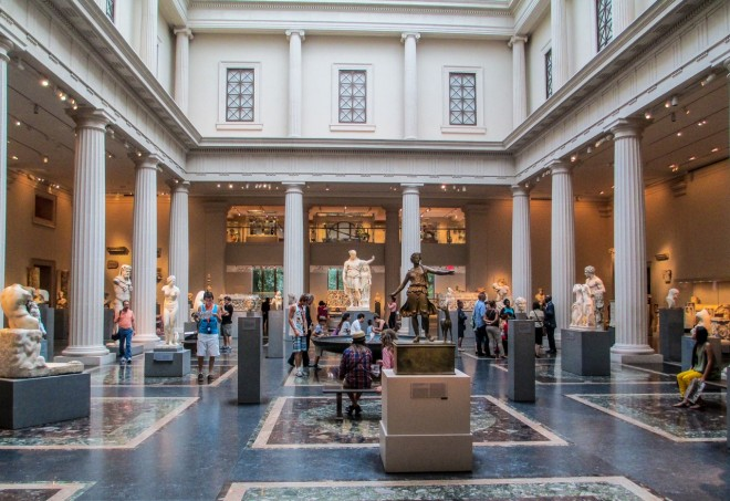 Metropolitan Museum of Art: Greek and Roman Galleries, NYC