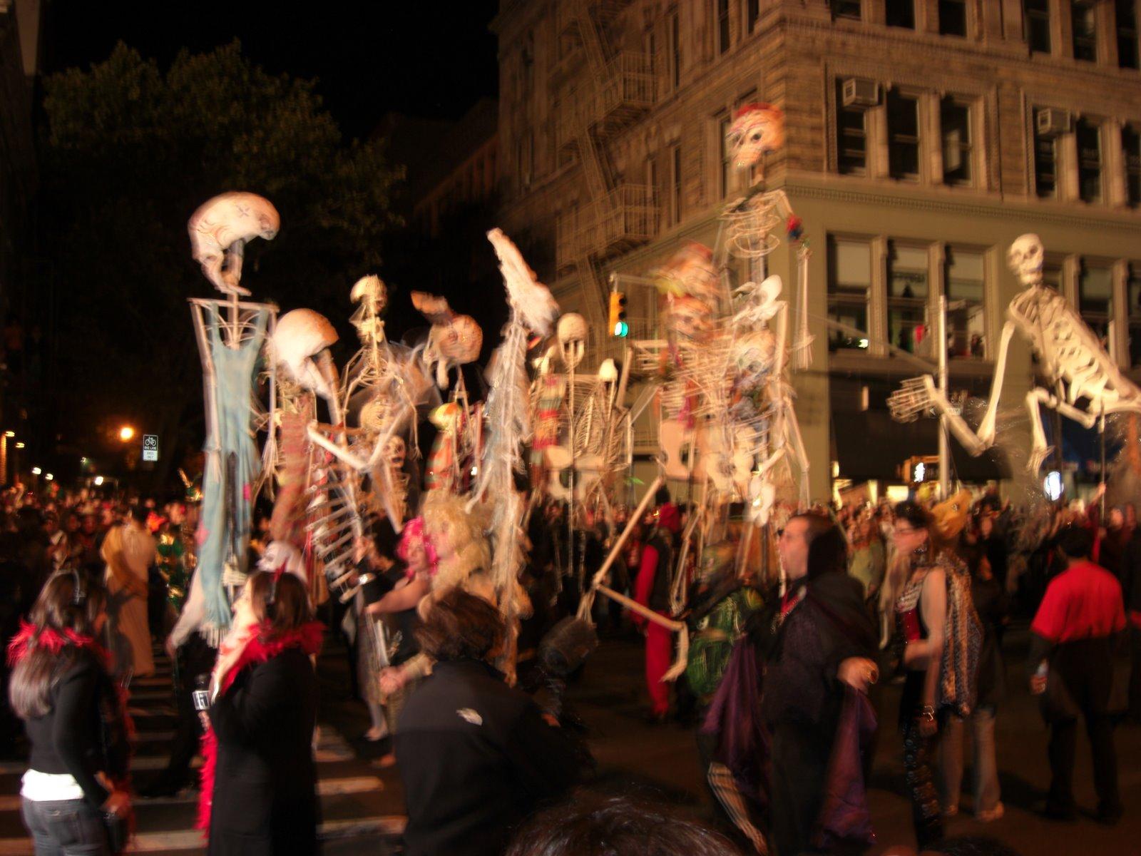NY Halloween Parade - Walks of New York