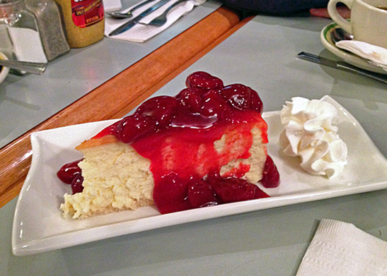 New York food, the cheesecake
