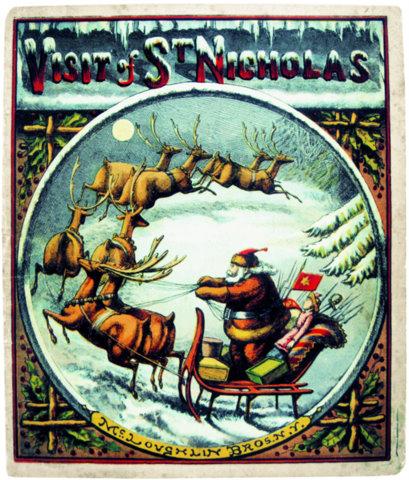 Santa Claus and New York