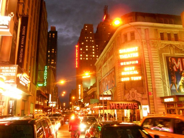 Broadway marquees W44th St