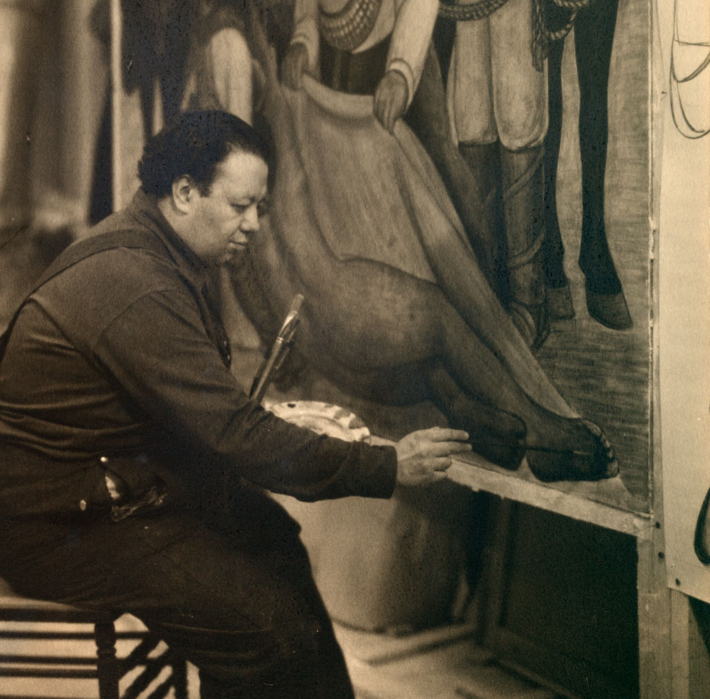 Diego rivera in nyc for Diego rivera first mural
