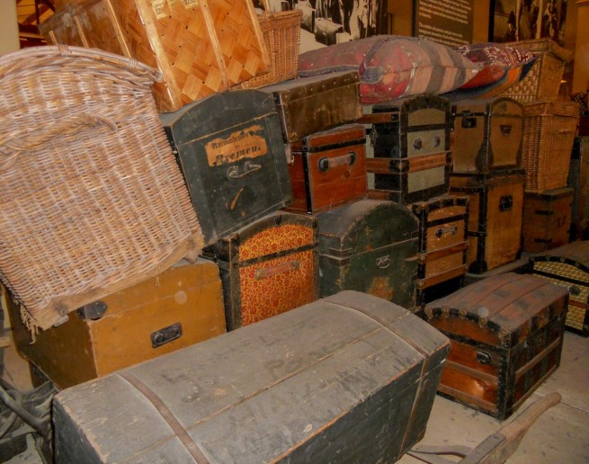 Immigrants Luggage, Ellis Island