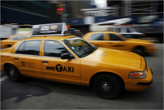 NYC taxis 3