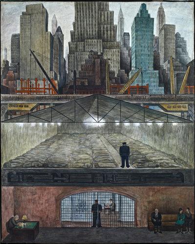 """""""Frozen Assets"""" Diego Rivera"""