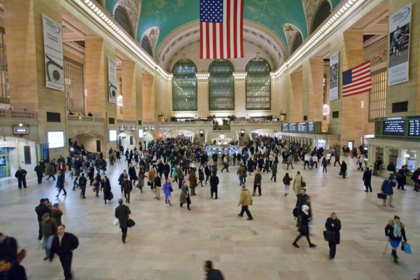 La sala Grand Central Terminal