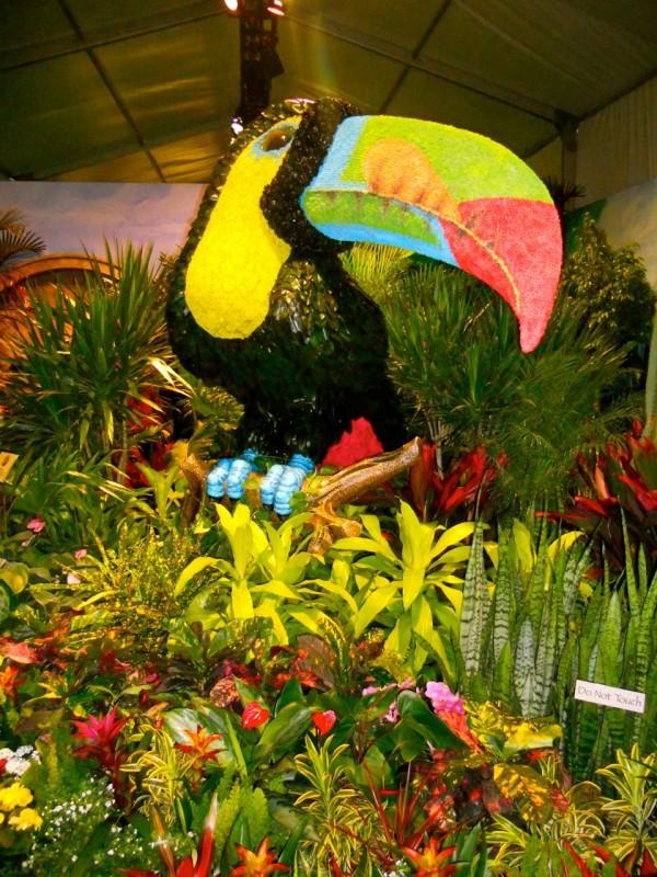 Exposición de flores de Macy's 2012