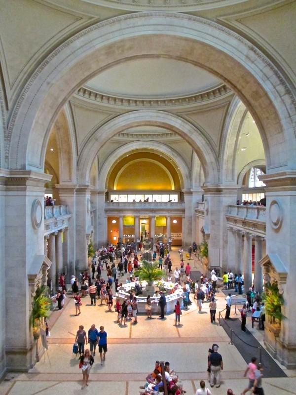 Vestíbulo del Museo Metropolitano de Arte
