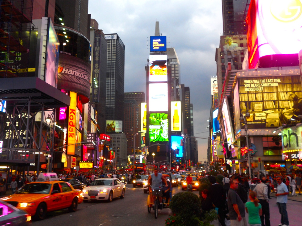 Times Square streets - Walks of New York