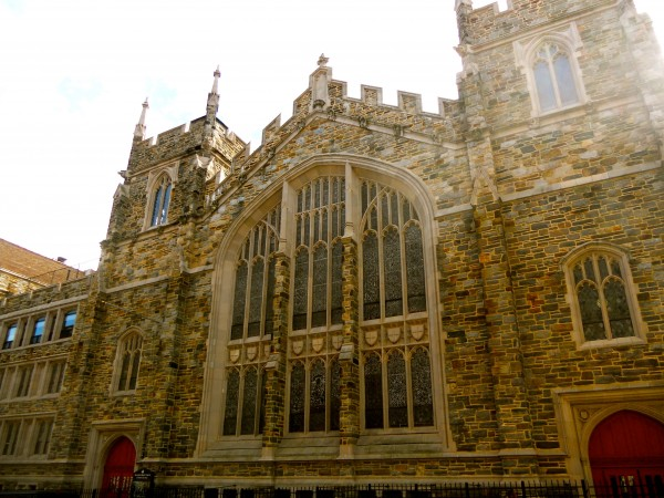 The Abyssinian Baptist Church in Harlem, NYC