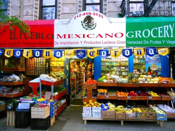 Tienda de comestibles Little Mexico