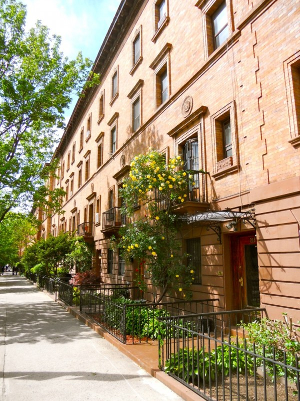 Strivers Row in Harlem, NYC
