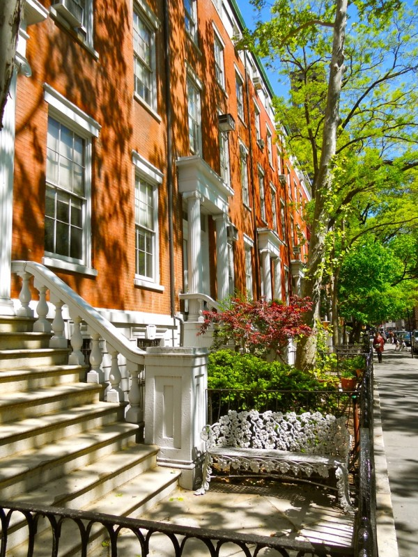 Washington Square's Row in Greenwich Village