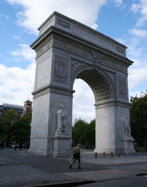 Washington Arch in Greenwich Village