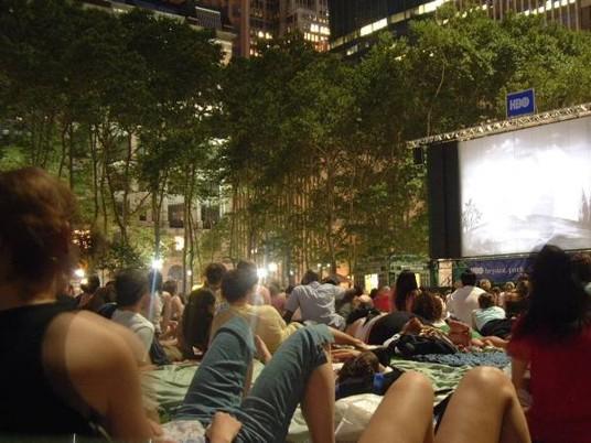 Festival de Cine de Bryant Park