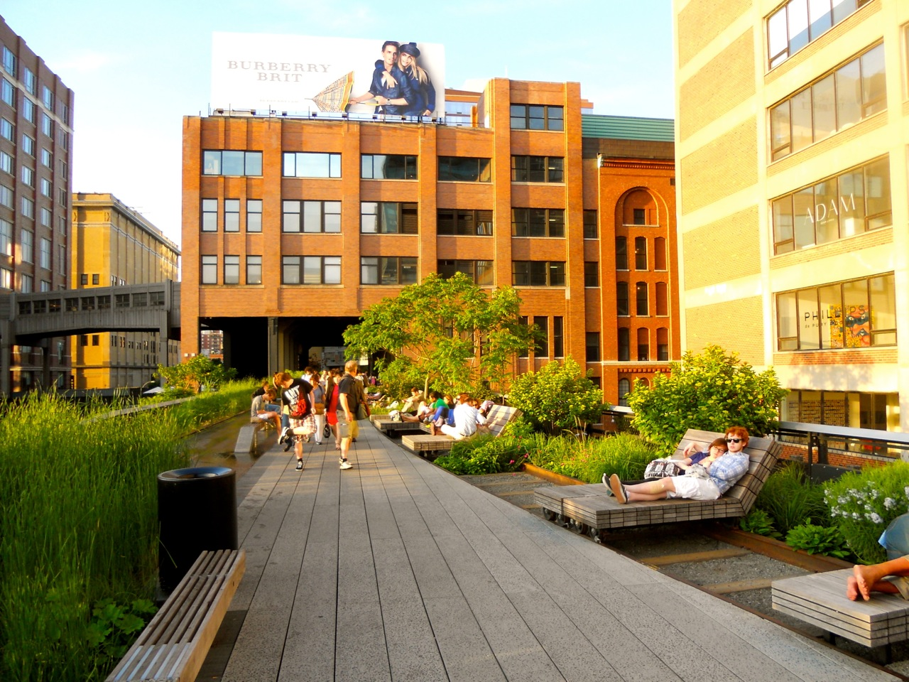 the high line new york 39 s park in the sky walks of new york. Black Bedroom Furniture Sets. Home Design Ideas