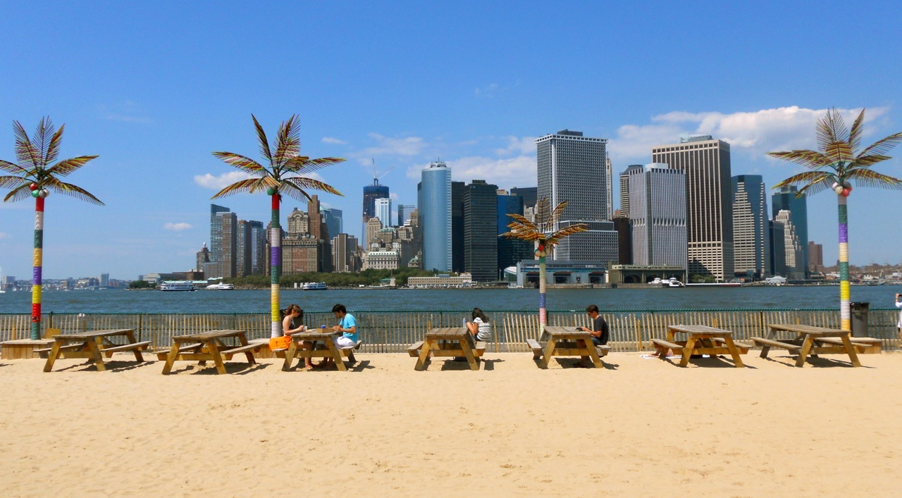 Water Taxi Beach Governors Island Nyc Walks Of New York