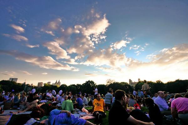 NY Philharmonic Central Park concert