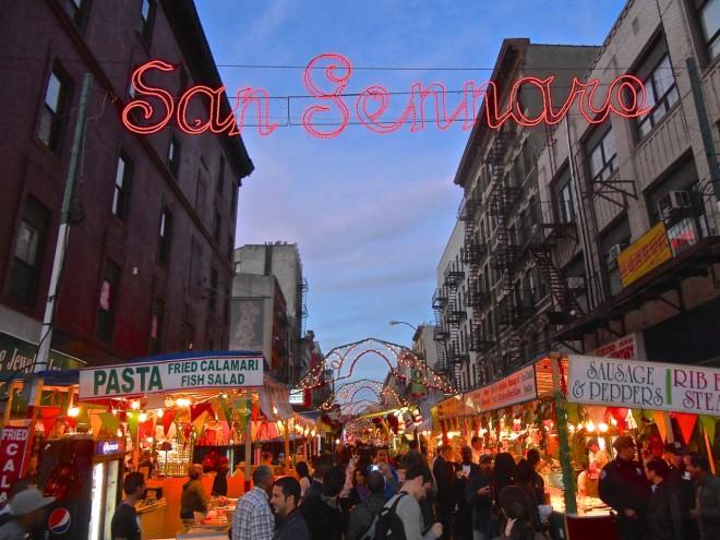 San Gennaro Festival, NYC