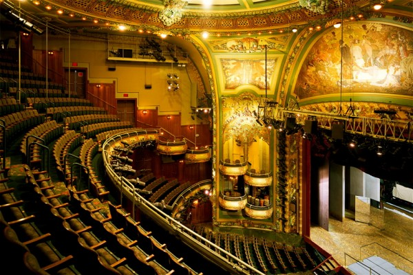 New Amsterdam Theater, a haunted location in NYC