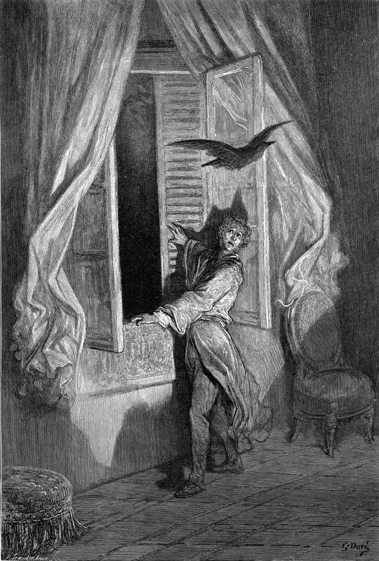 Edgar Allan Poe's Raven