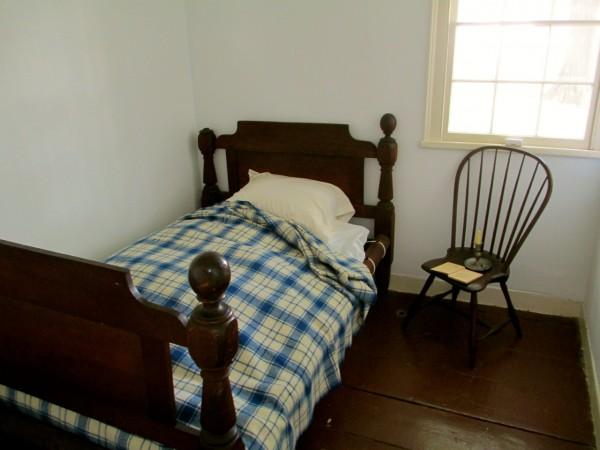 Virginia Poe's bed, Poe Cottage