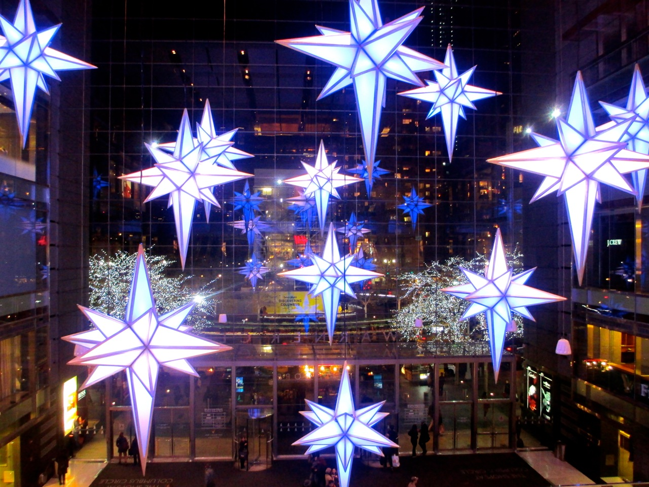 Holiday Under The Stars Time Warner Center Nyc Walks