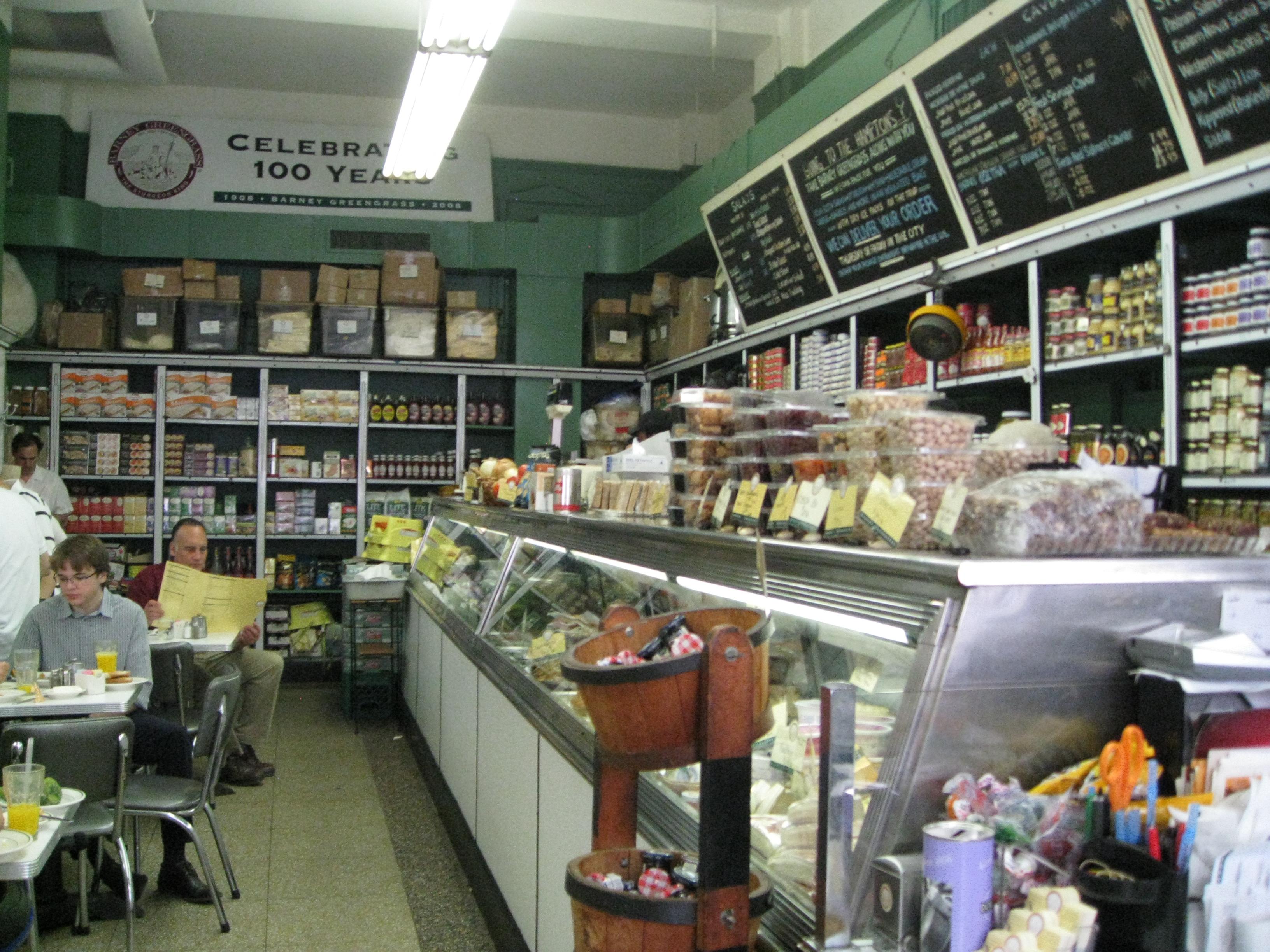 Barney greengrass walks of new york for Kosher countertops