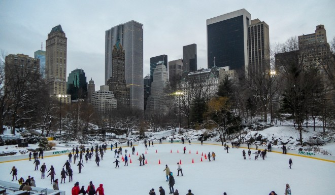 Wollman Rink, Central Park, NYC