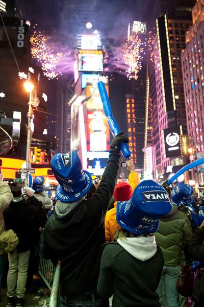Times Square New Years rev