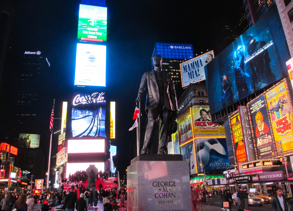 Times Square, Broadway Marquees