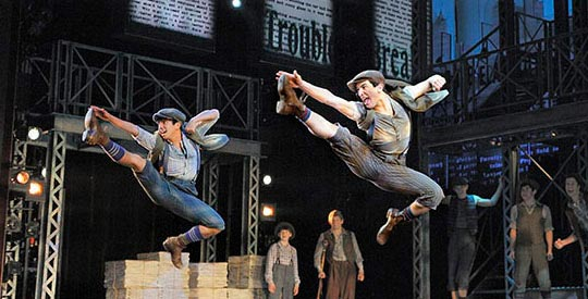 Newsies, Musical de Broadway