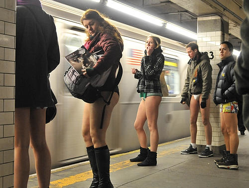 Nyc No Pants Subway Ride Updated 2014 Walks Of New York