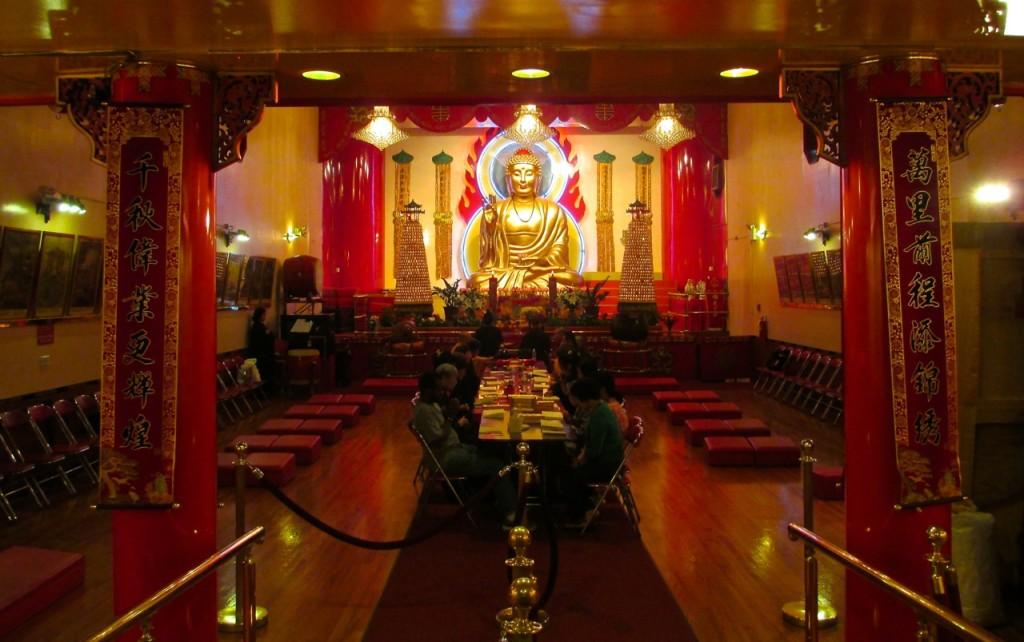 Mahayana Buddhist Temple, NYC