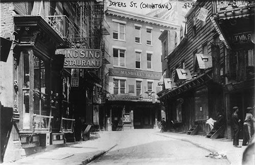 Doyers Street, Chinatown, NYC