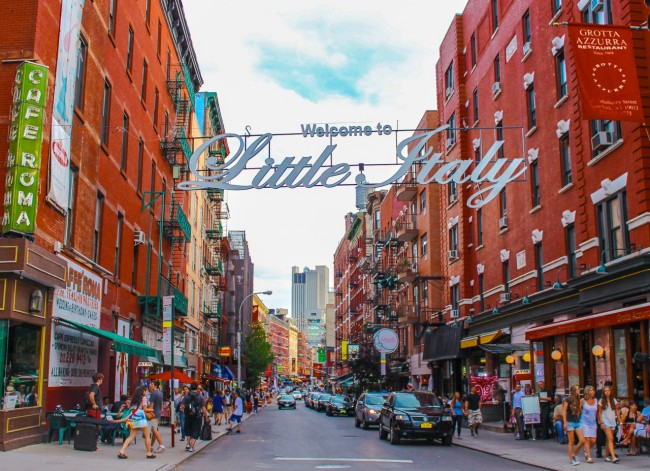 Image result for mulberry street new york