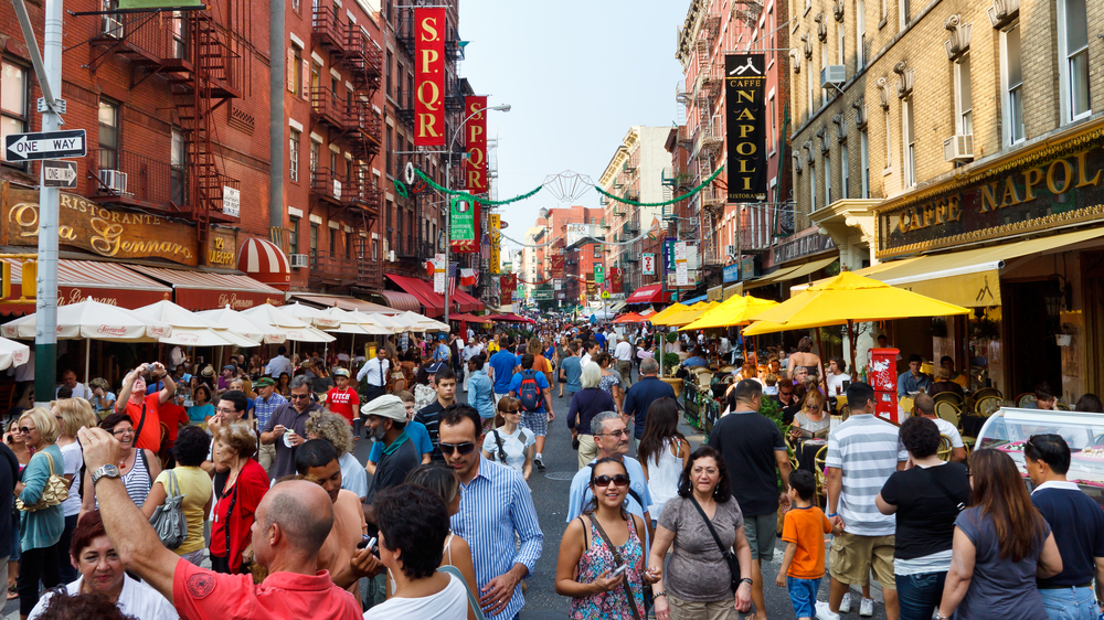 the best restaurants in little italy walks of new york