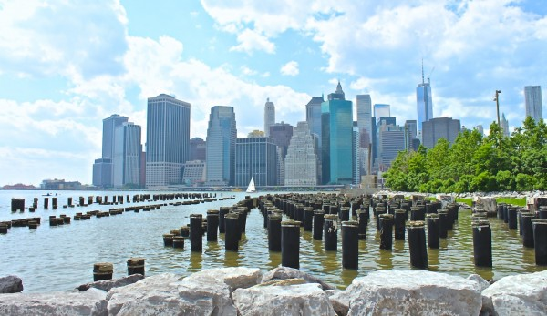 NYC Skyline from Brooklyn Bridge Park