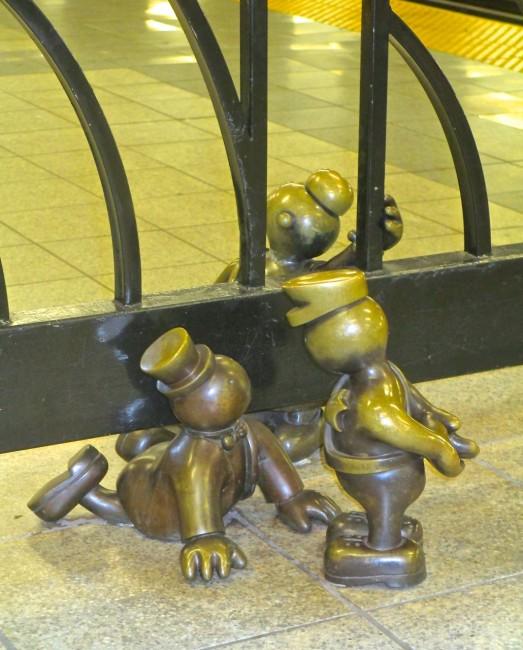 Otterness Subway sculpture