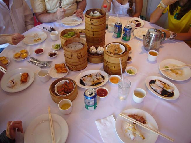 Dim Sum, Chinatown, NYC