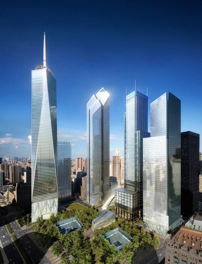 New WTC rendering