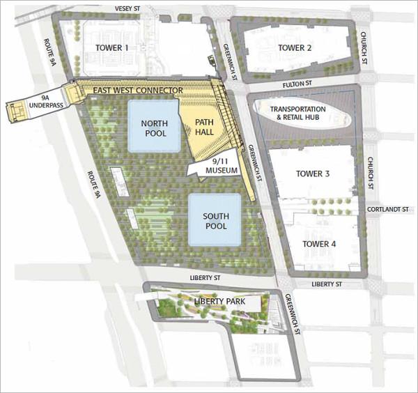 New WTC site plan