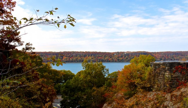 New Jersey Palisades in Autumn