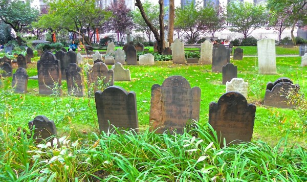 Cemetery in NYC