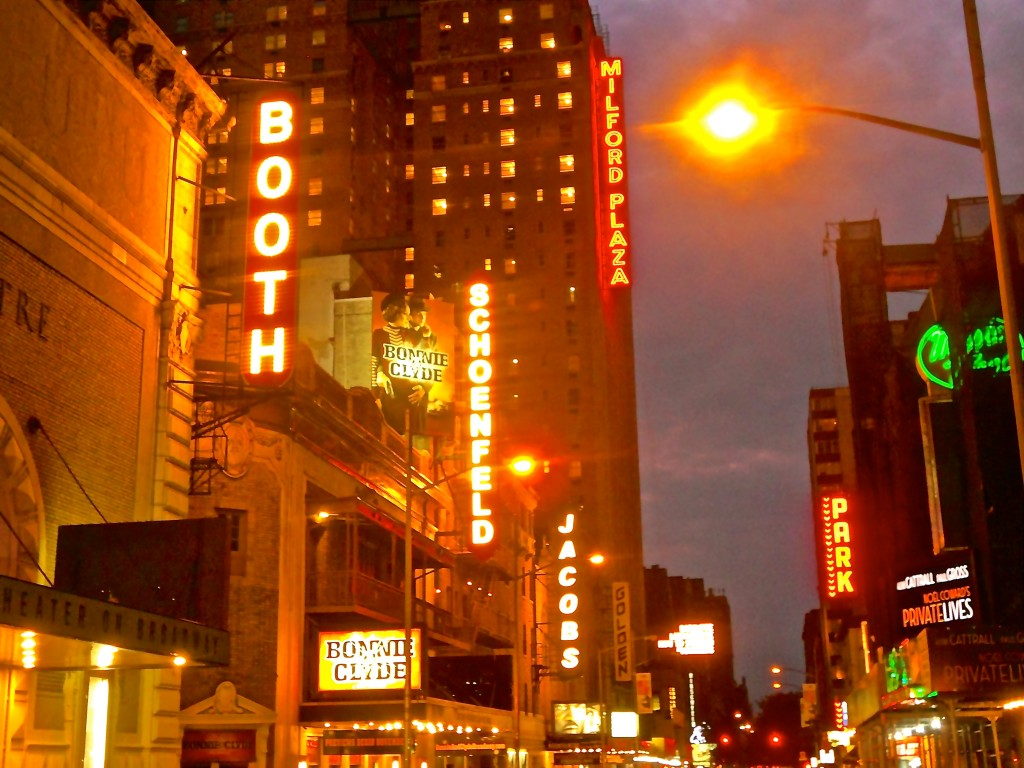 Broadway Marquees, NYC