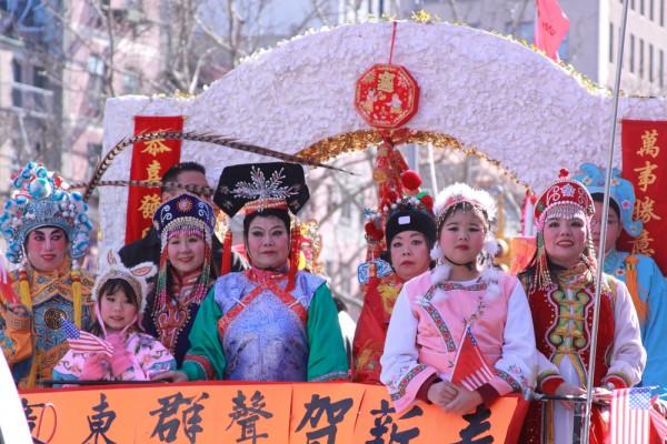 Desfile de año nuevo chino en Nueva York