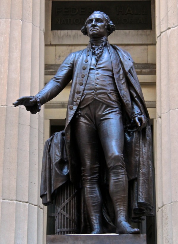 Washington Statue, Federal H