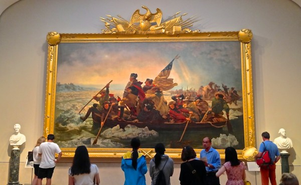 Washington Crossing the Delaware at Met Museum